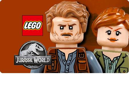 I must have per gli appassionati LEGO Jurassic World