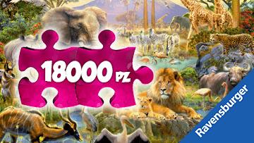Puzzle 18000 pezzi Ravensburger