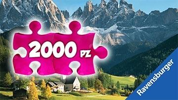 Puzzle 2000 pezzi Ravensburger