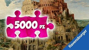 Puzzle 5000 pezzi Ravensburger