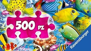 Puzzle 500 pezzi Ravensburger