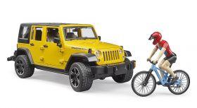 Macchina Jeep Wrangler Rubicon Unlimited | Gioco Bruder