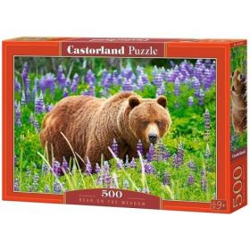 Bear on the Meadow (Puzzle 500 pezzi Castorland)