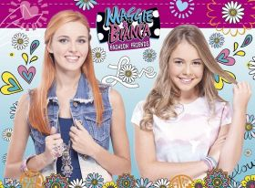 Bianca & Maggie Fashion Friends (Puzzle 100 pezzi XXL Ravensburger)
