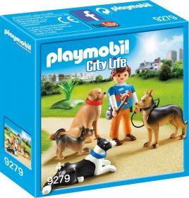Playmobil 9279 Addestratore di Cani (Playmobil City Life) (Playmobil)