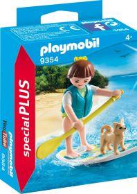 Playmobil 9354 Ragazza con Stand Up Paddling (Playmobil Figures) (Playmobil)