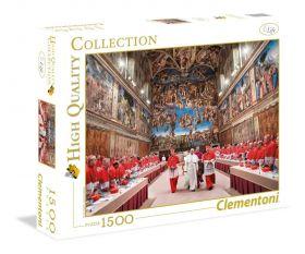 1500 pezzi Puzzle Papa Francesco (Clementoni) 31598 su ARSLUDICA.com