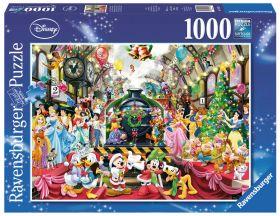 Puzzle Disney 1000 pezziIl Ravensburger Treno di Natale confezione