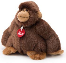 Gorilla Marrone Rocco 25 cm (Peluche Trudi)
