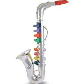 Sassofono Cromato Grande a 8 Chiavi (Gioco Bontempi)