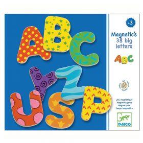 38 Lettere Magnetiche in Legno Djeco su ARSLUDICA.com