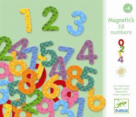 38 Numeri Magnetici Djeco su ARSLUDICA.com