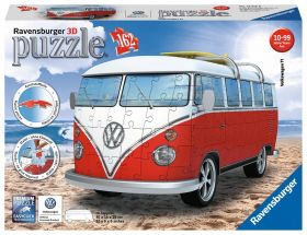 Puzzle 3D Pullmino Wolkswagen Gioco (Ravensburger 3D Puzzle)