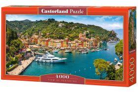 Puzzle 4000 pezzi Castorland Vista di Portofino | Puzzle Paesaggi Mare Italia
