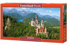 View of the Neuschwanstein Castle, Germany