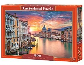 Puzzle 500 Pezzi Castorland Venice at Sunset   Puzzle Città Paesaggi