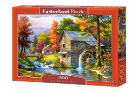 Puzzle 500 Pezzi Castorland Old Sutter's Mill   Puzzle Paesaggi