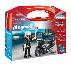 Playmobil 5648 Valigetta Polizia (Playmobil City Action)