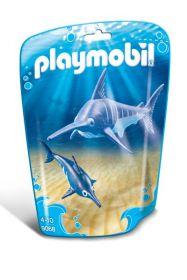 Playmobil 9068 Pesce Spada con Cucciolo (Playmobil Summer Fun)