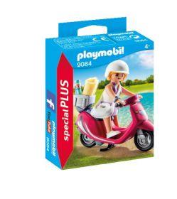 Playmobil 9084 Ragazza con Scooter (Playmobil Special Plus)