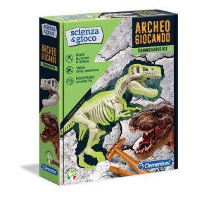 Archeogiocando T-Rex Scienza e Gioco Clementoni