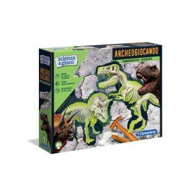 Archeogiocando T-Rex & Triceratopo Scienza e Gioco Clementoni