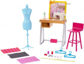 Barbie Atelier della Stilista (Barbie Accessori Carriere)