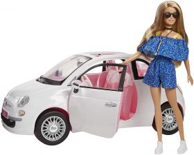 Barbie Fiat 500 FVR07 (Barbie Accessori)