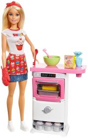 Barbie Pasticcera FHP57 (Barbie Playset)