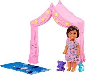 Barbie Skipper Babysitter Tenda Rosa FXG97 (Mattel)