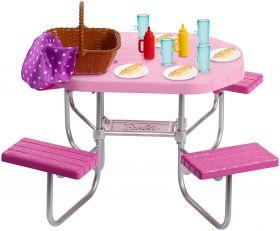 Barbie Tavolo da Picnic (Barbie Accessori Esterni)