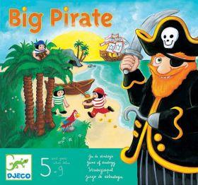 Big Pirate Gioco da Tavolo Djeco su ARSLUDICA.com