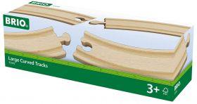 Binari Curvi Grandi 33342 (BRIO Expansion)