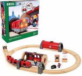 BRIO Set Set Metropolitana | Gioco in Legno