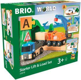 BRIO Starter Set Carica e Trasporta| Gioco in Legno