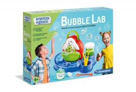 Bubble Lab Scienza e Gioco Clementoni su ARSLUDICA.com
