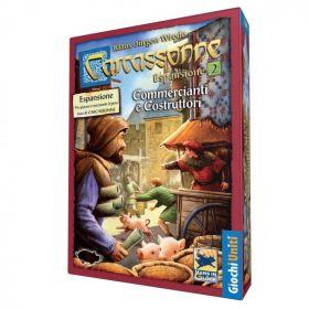Carcassonne Commercianti e Costruttori Espansione 2 Giochi Uniti