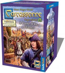 Carcassonne Il Conte, Il Re e l'Eretico Espansione 6 su ARSLUDICA.com