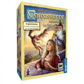 Carcassonne La Principessa e il Drago Espansione 3 Gioco da Tavolo Giochi Uniti