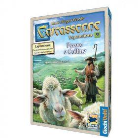 Carcassonne Pecore e Colline Espansione 9 Giochi Uniti