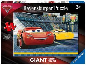Cars 3 (Puzzle 24 pezzi Ravensburger)