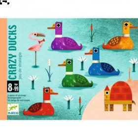 Carte Crazy Ducks (Gioco di Carte Djeco)