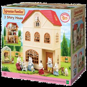 Casa a 3 Piani Con Terrazzo (Sylvanian Families)