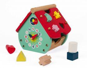 Casa delle Forme Baby Forest (Gioco Formativo Janod) su ARSLUDICA.com