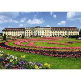 Puzzle 1000 pezzi Ravensburger Castello di Ludwigsburg | Puzzle Paesaggi