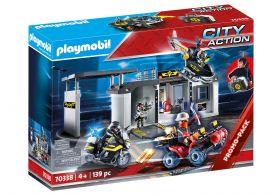 Playmobil 70338 Centrale Portatile dell'Unità Speciale di Polizia (Playmobil Polizia)