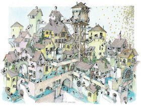 Città dell'Acqua (Puzzle 1080 Pezzi Le Formiche di Fabio Vettori)