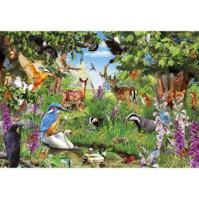 Puzzle 2000 Pezzi Clementoni Fantastic Forest | Puzzle Animali