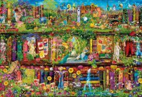 Puzzle 2000 Pezzi Clementoni The Garden Shelf | Puzzle Fantasy
