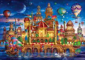 Puzzle 6000 Pezzi Clementoni Downtown | Puzzle Fantasy